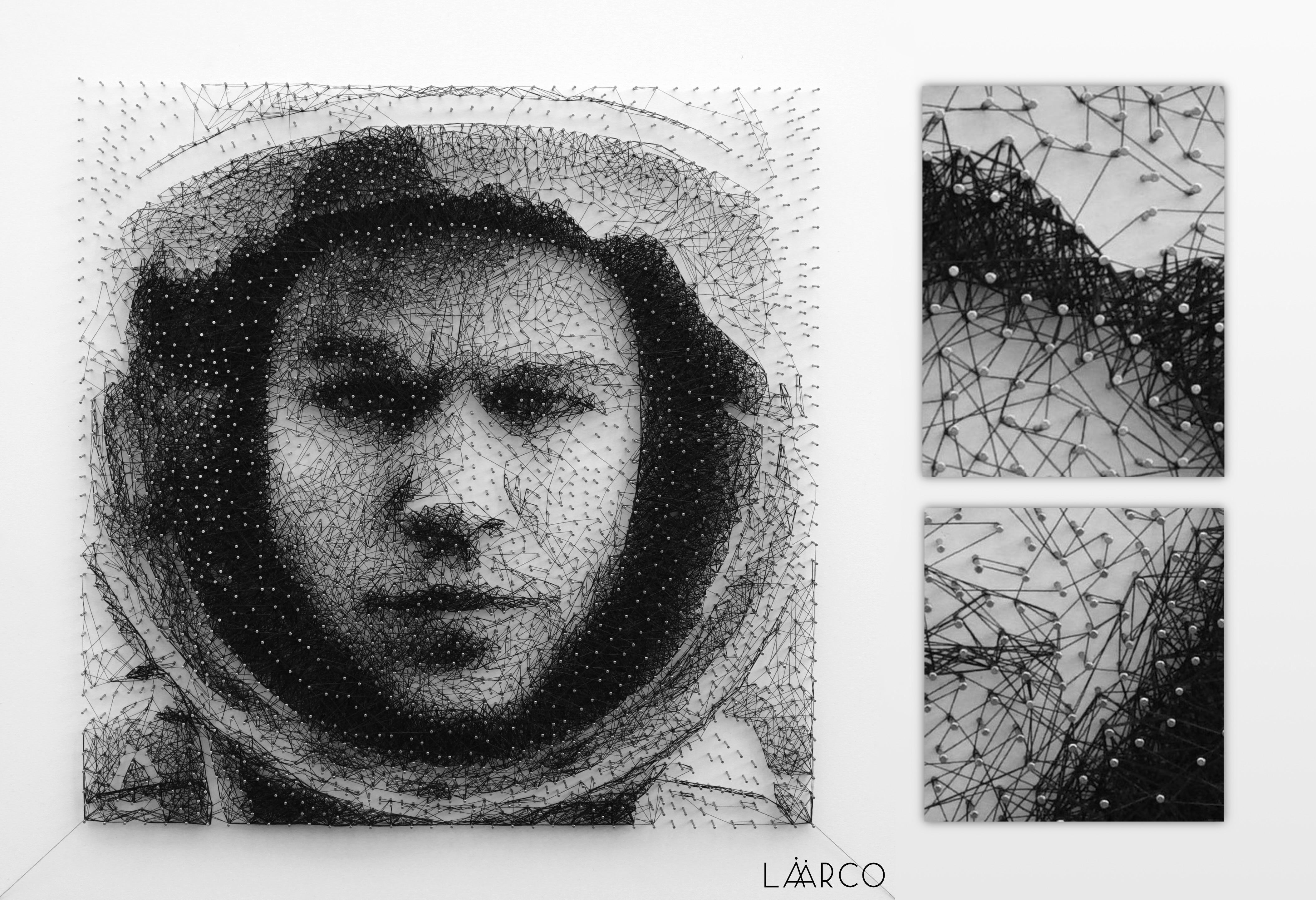 Laarco Studio London Uk String Art Algorithmic Art Customized