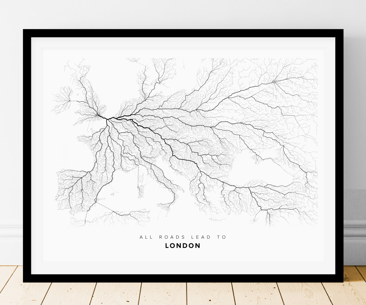 All Roads Lead to London (Landscape)